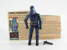 GI Joe Cobra Commander Mail-Ins 1984 Original Vintage Complete