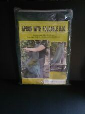 Garden Apron With Harvest Collection Bag Number 42500 Waterproof Cloth EUC
