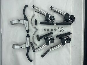 Shimano Deore XT BR-M750 V Brakeset And BL-M789 Levers Vintage MTB Front & Rear