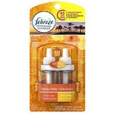 Febreze NOTICEables Dual Refill Scented Oils, Hawaiian Aloha 0.87 oz