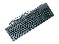 New Dell 104-Keys Quiet USB Keyboard Black C638N 4G481 0DJ454 DJ454 KB4021-B