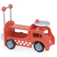 Chariot de marche et porteur en bois Camion pompiers 2 en 1 - Vilac 1013