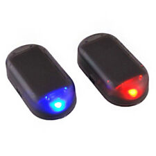 Fake Solar Car Alarm Led Light-Security System Warning Theft Flash Blinking Red