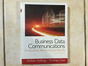 Business Data Communications- Infrastructure, Networking and Security used