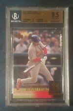 ALBERT PUJOLS 2001 UPPER DECK UD #295 RC ROOKIE MLB CARD  BGS 9.5 GEM MINT