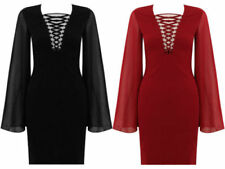 Polyester Summer/Beach Women's Lace Up Dresses