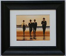 Il BILLY BOYS by Jack Vettriano incorniciato & MOUNT ART PRINT PICTURE CORNICE NERA