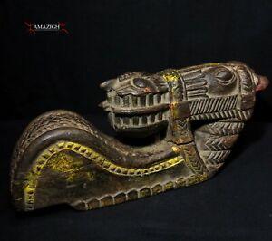 Antique Architectural Element - Horse - Andhra Pradesh, India