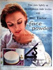 1955 Max Factor 'Face Powder' AD - Original Print ADVERT