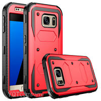 Hybrid Hard Case Tuff Protective Shockproof Cover for Samsung Galaxy LG Phones