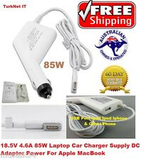 18.5W Magsafe1 Laptop Car Charger Supply DC Adapter Power For Apple MacBook