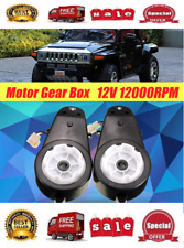 12V Power Wheels Gearbox and Motor for Jeep Ride On Toys 1 Pair For Car NEW