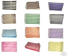 More details for 100 colour white candy stripe paper sweet bags wedding 5