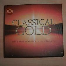 VARIOUS - Classical Gold (3 CD Box Set)