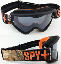 Spy Optics Targa 3 Motocross Mx Goggles Real Tree Camo Con Humo Lentes Polarizados