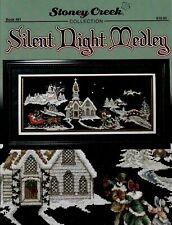 STONEY CREEK Cross Stitch Pattern Leaflet SILENT NIGHT MEDLEY Book 481