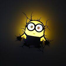 Despicable Me Minions 3D Wall Light (Bob)