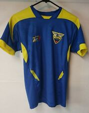 WORLD CUP BRAZIL 2014 BRASIL Blue and yellow shirt adult small MTW see pics (E)