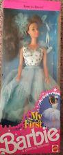 My First Barbie A Glittering Ballerina Steffie Mold Brunette 1991 Mattel #3864