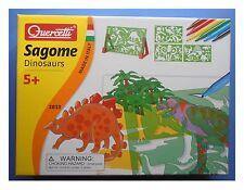 Sagome per disegnare dinosauri con album e pennarelli, Quercetti 2613
