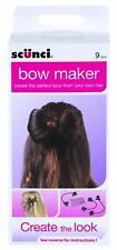 Scunci Bow Maker hair accessory Create the Look BNIB