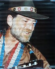 RARE WILLIE NELSON 1981 VINTAGE ORIGINAL MUSIC POSTER