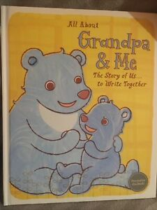 hallmark baby book All About Grandpa And Me Hardcover