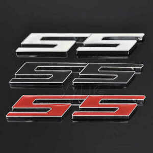 1x SS grill badge or trunk badge Emblem 3D Decal for Camaro Chevrolet Series