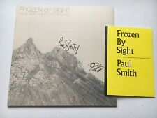 PAUL SMITH + PETER BREWIS - FROZEN BY SIGHT HAND SIGNED RECORD AUTOGRAPHED NEW