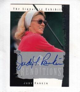 2003 Upper Deck LPGA JUDY RANKIN Authentic Autograph