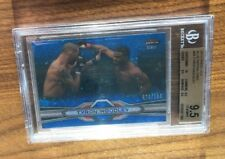 2013 Topps Finest UFC~TYRON WOODLEY RC~Blue Refractor SP Rookie~BGS 9.5 Gem w/10