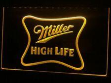Miller High Life Beer Bar Pub Led Neon Light Sign Bar Club Pub Cafe Home Advert