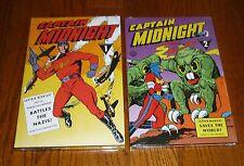 Captain Midnight Archives Volume 1 and 2, SEALED, Fawcett Dark Horse hardcovers