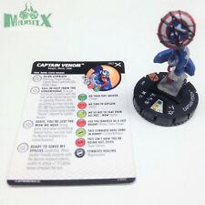 Heroclix Earth X set Captain Venom #062 Chase figure w/card!
