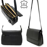 Ladies Women Soft Nappa Leather Cross Body Bag Handbag Travel Shoulder Organiser