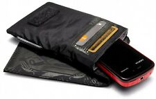 Golla Enigma Black Padded Phone Case Wallet With Credit Card Pockets