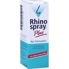 RhinoSpray plus bei Schnupfen mit Feindosierer 10ml PZN 7610138