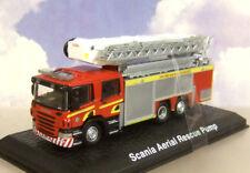ATLAS/OXFORD 1/76 SCOTTISH SCANIA AERIAL LADDER RESCUE FIRE ENGINE FIFE SCOTLAND