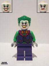 Lego Figure The Joker - Orange Bow Tie Green Arms - sh590