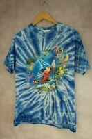 Rare Walt Disney World Tshirt Top Size S Fantasia Tie Dye