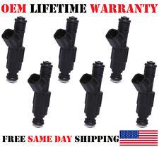 Genuine #0280156300 Bosch for 07-09 Saturn Aura 3.6L V6 Reman x6 Fuel Injectors