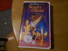 Beauty and the Beast Walt Disney Black Diamond VHS Rare OOP