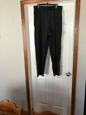 Mens FILA Black Track Pants Size L