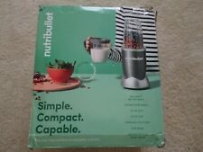 NutriBullet NBR0801 600W 24oz Counter Top Blender with Pulse Function - Grey NEW