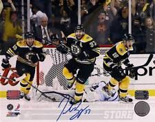 Patrice Bergeron Boston Bruins Signed Game 7 Comeback Celebration vs Leafs 8x10