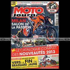 MOTO JOURNAL N°2026 TRIUMPH 865 BONNEVILLE HONDA NC 700 HUSTLER GUZZI V7 STONE