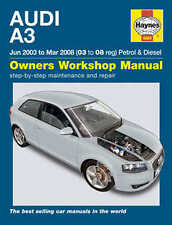 Audi A3 Haynes Manual Repair Manual Workshop Service Manual  2003-2008 4884