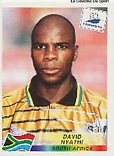 N°181 DAVID MYATHI SOUTH AFRICA PANINI WORLD CUP 1998 STICKER VIGNETTE 98