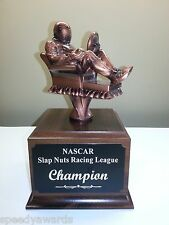 Fantasy Nascar Racing Champions Trophy - ENGRAVED FREE - SPEEDY Shipping