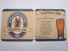 Beer Coaster ~*~ Alexander KEITH'S Fine Beers ~*~ Nova Scotia, CANADA Since 1820